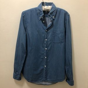 Steven Alan Chambray Shirt.  Size Small